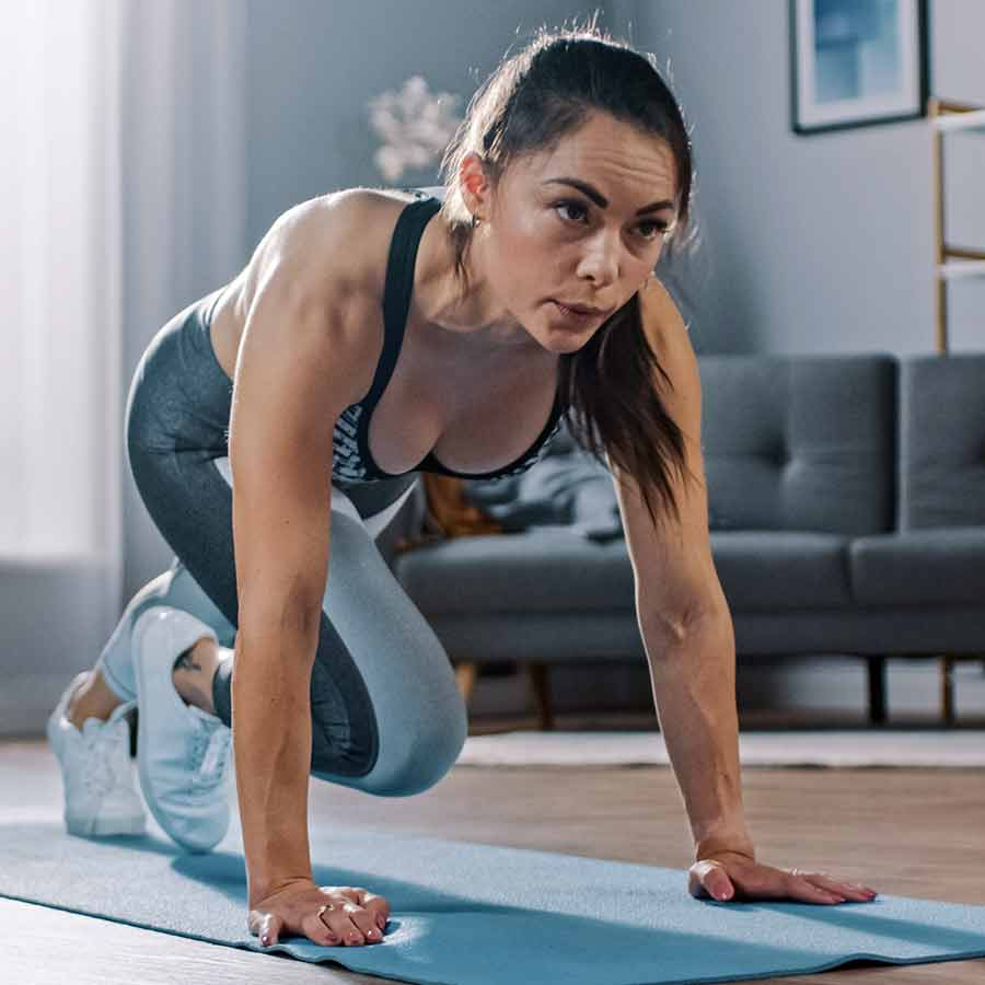 Strong with jess at home workout